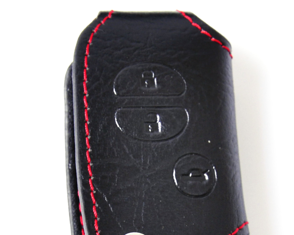 Highlander-Leather-Remote-Key-Chain-Fob-Holder-Case-Cover-for-TOYOTA-Camry