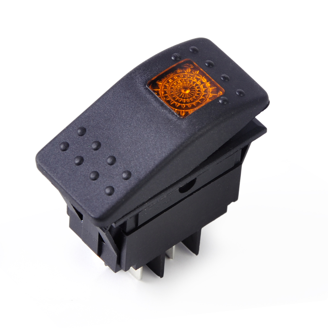 4Pin-Waterproof-Heaps-Rocker-Switch-Button-LED-ON-OFF-Car-Boat-Carling-12V-20A thumbnail 7