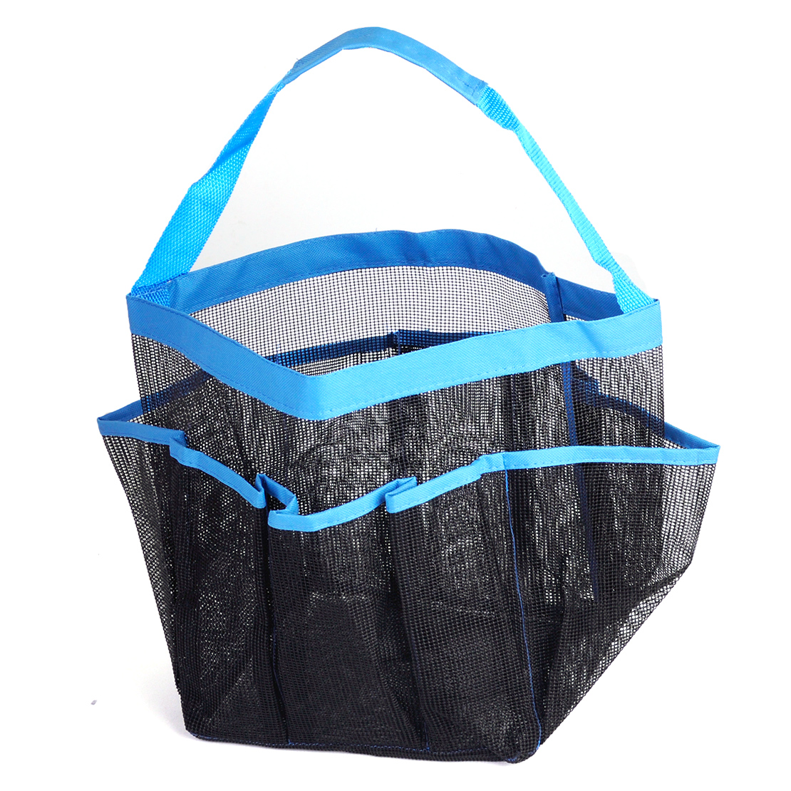 8 Pockets Mesh Quick Dry Shower Caddy Travel Tote with Carry Handle ...