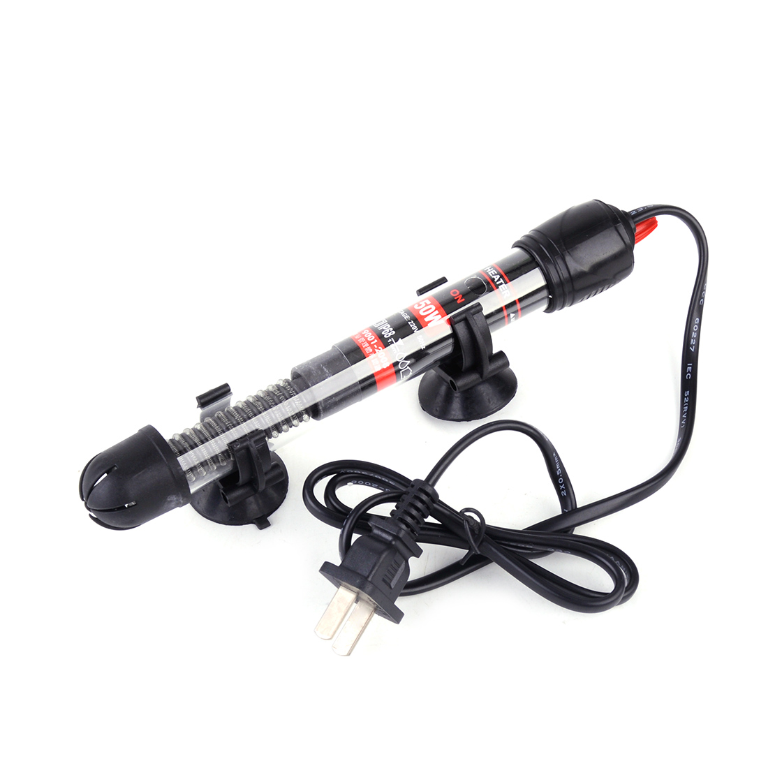 25 50 100 200 300w water heater for aquarium submersible for Fish water heater