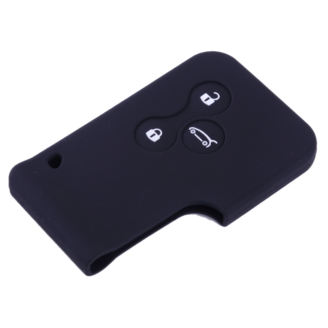 3 button remote silicone card key case for renault clio. Black Bedroom Furniture Sets. Home Design Ideas