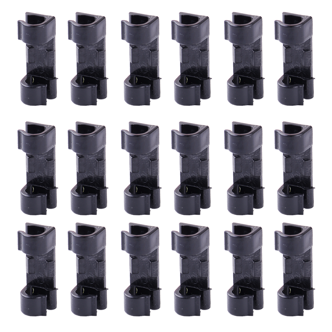Cord Holder Wall: 20pcs Self Adhesive Wire Cable Cord Clips Clamp Table Wall