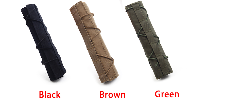 Military Soldiers Silencer Cover Shooting Rod Protective Suppressor