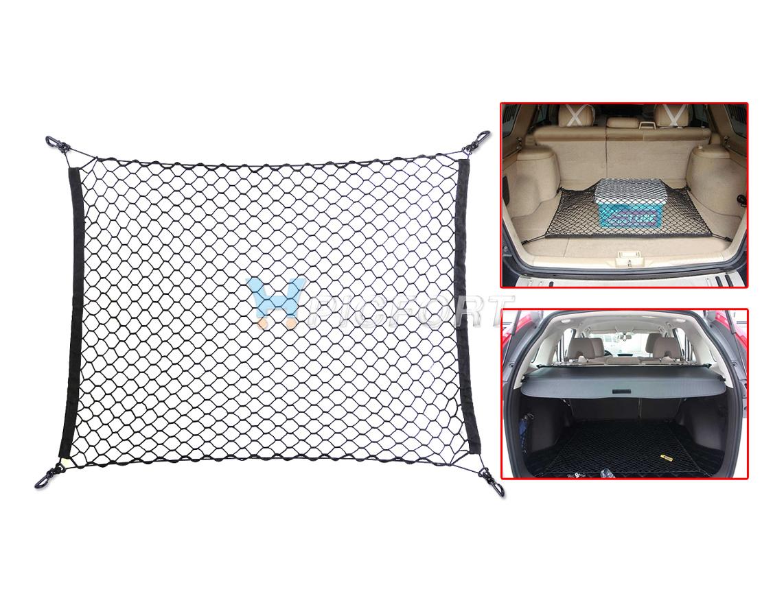 Car Trunk Rear Cargo Organizer Storage Net Flexible Suv