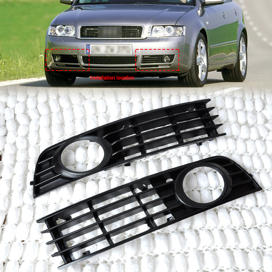 2005 audi a4 grille insert manual how to and user guide instructions u2022 rh taxibermuda co 2015 Audi A4 2013 Audi A4