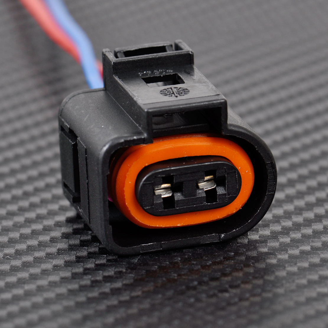 1J0973702 Electrical Harness 2 Pin Connector Plug Wiring fit VW Audi ...
