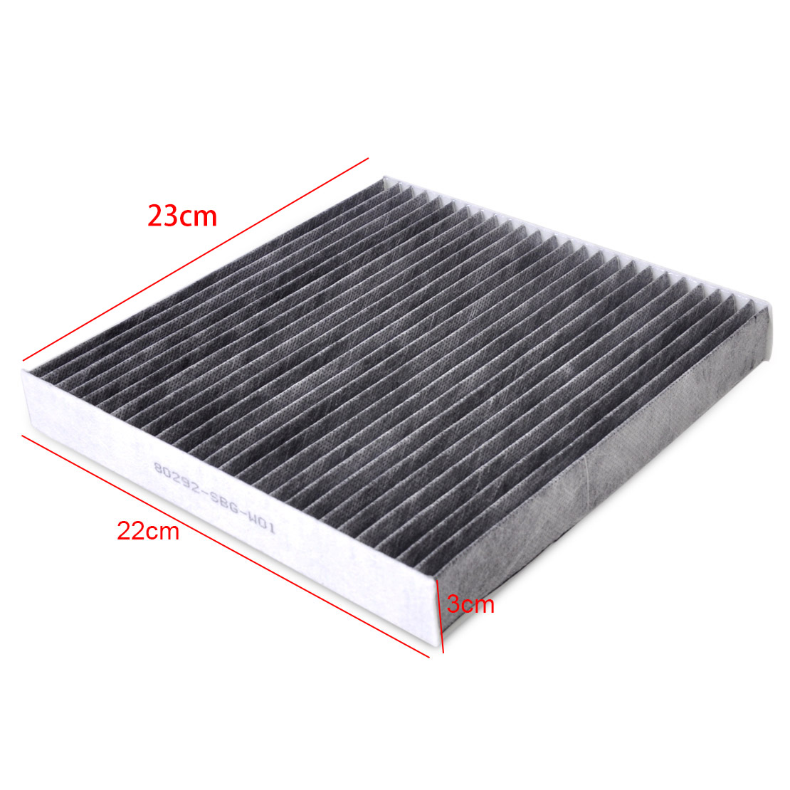 80292SDAA01 Cabin Air Filter Fit For Acura MDX RL TL TSX