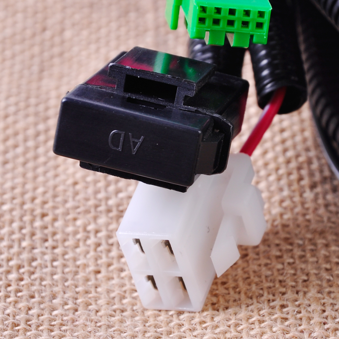 9 new wiring harness socket switch for h11 fog light lamp ford 2001 Ford Focus Fuse Manual at gsmportal.co