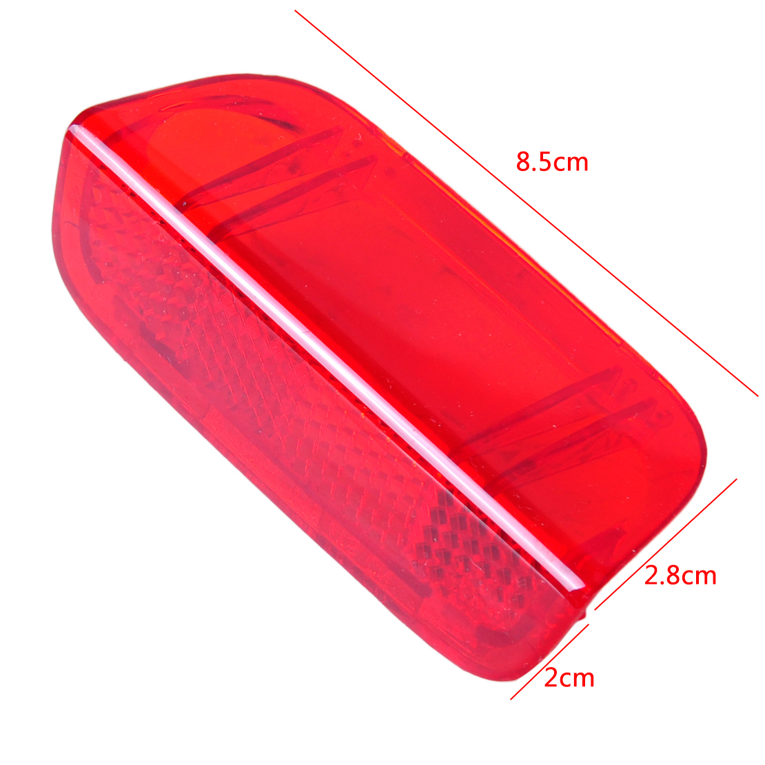 Door Interior Panel Red Light Lamp Reflector Fit For VW