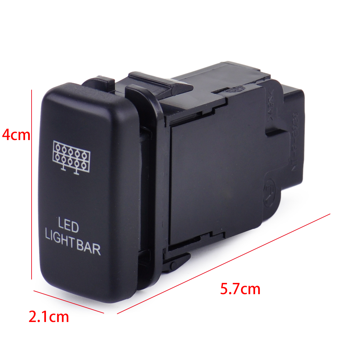 12v blue led light bar on off push switch fit toyota hilux prado 3 led light bar switch reverse light switch driving light switch spot light switch zombie light switch fog light switch are available aloadofball Image collections