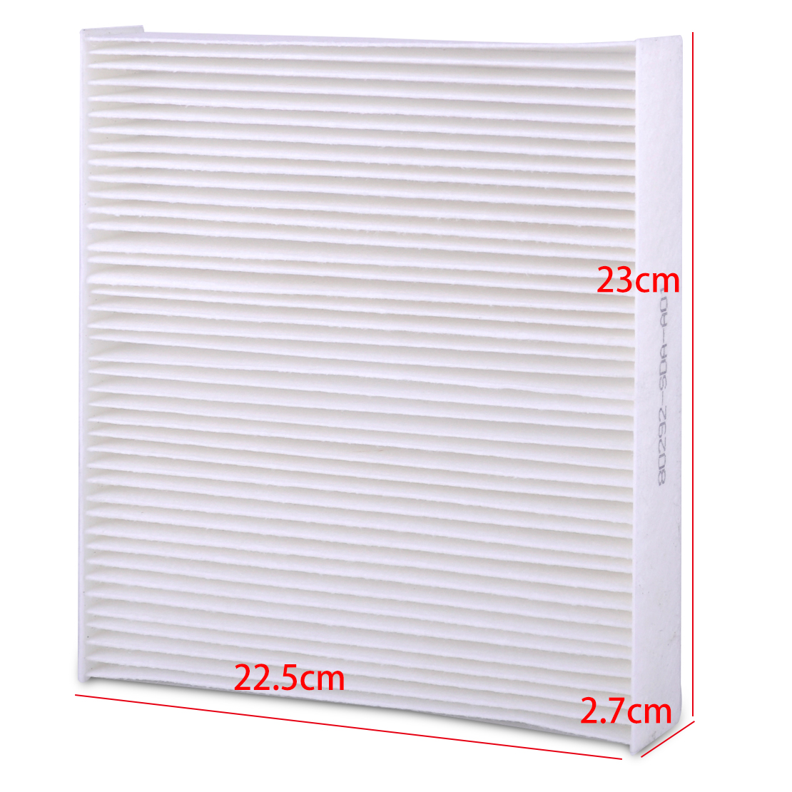 White Cabin Air Filter Fit For Acura CSX MDX RDX Honda