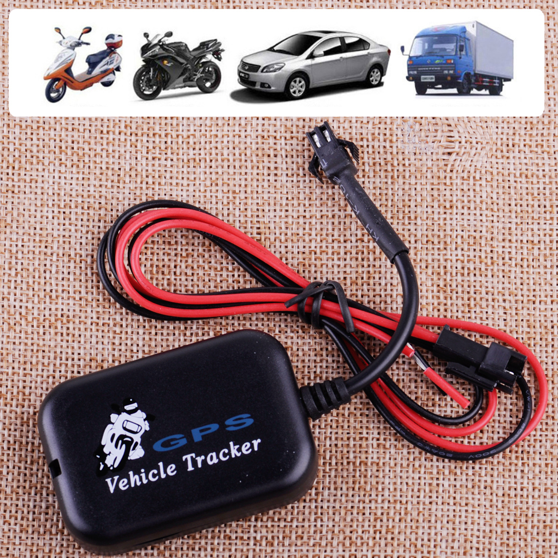 Mini GSM GPRS GPS Anti-Theft Tracker  Vehicle Real Time Network Locator Device