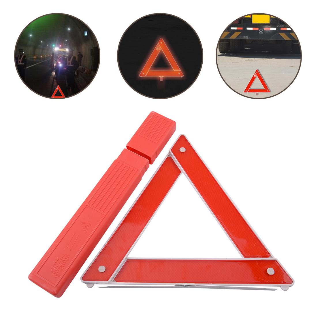 Reflektierendes Warnzeichen Dreieck Auto Gefahr Klassifizierung EU-Notfall  XJ
