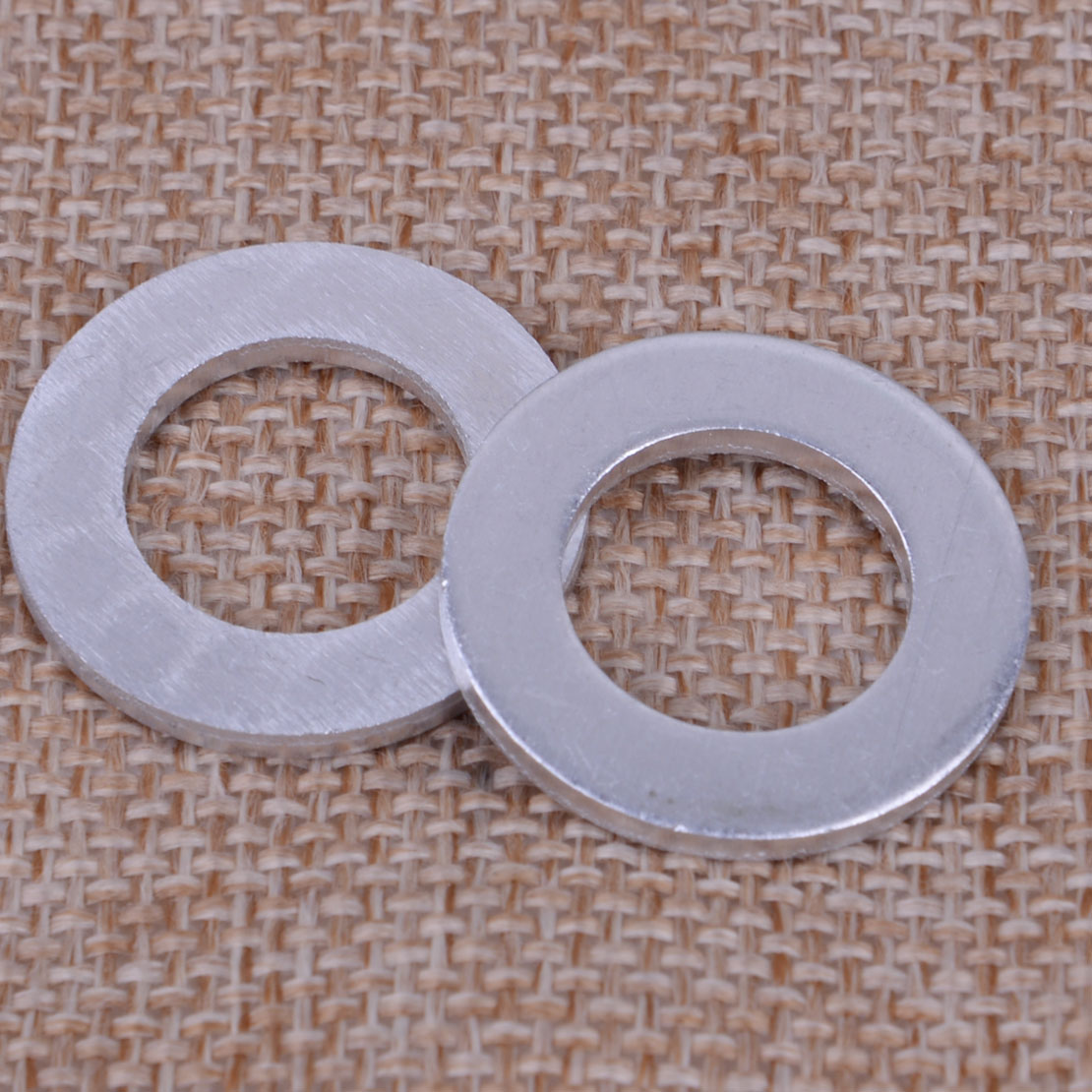 10 Engine Oil Drain Plug 14mm Crush Washer Gasket Fit For