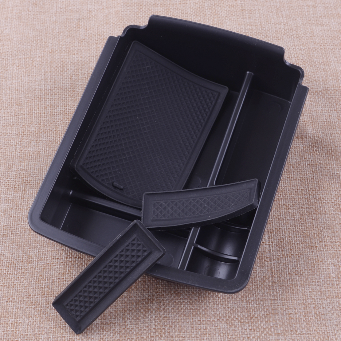 thumbnail 2 - Interior Center Console Armrest Storage Tray Holder Fit for VW Golf 7 MK7 14-18