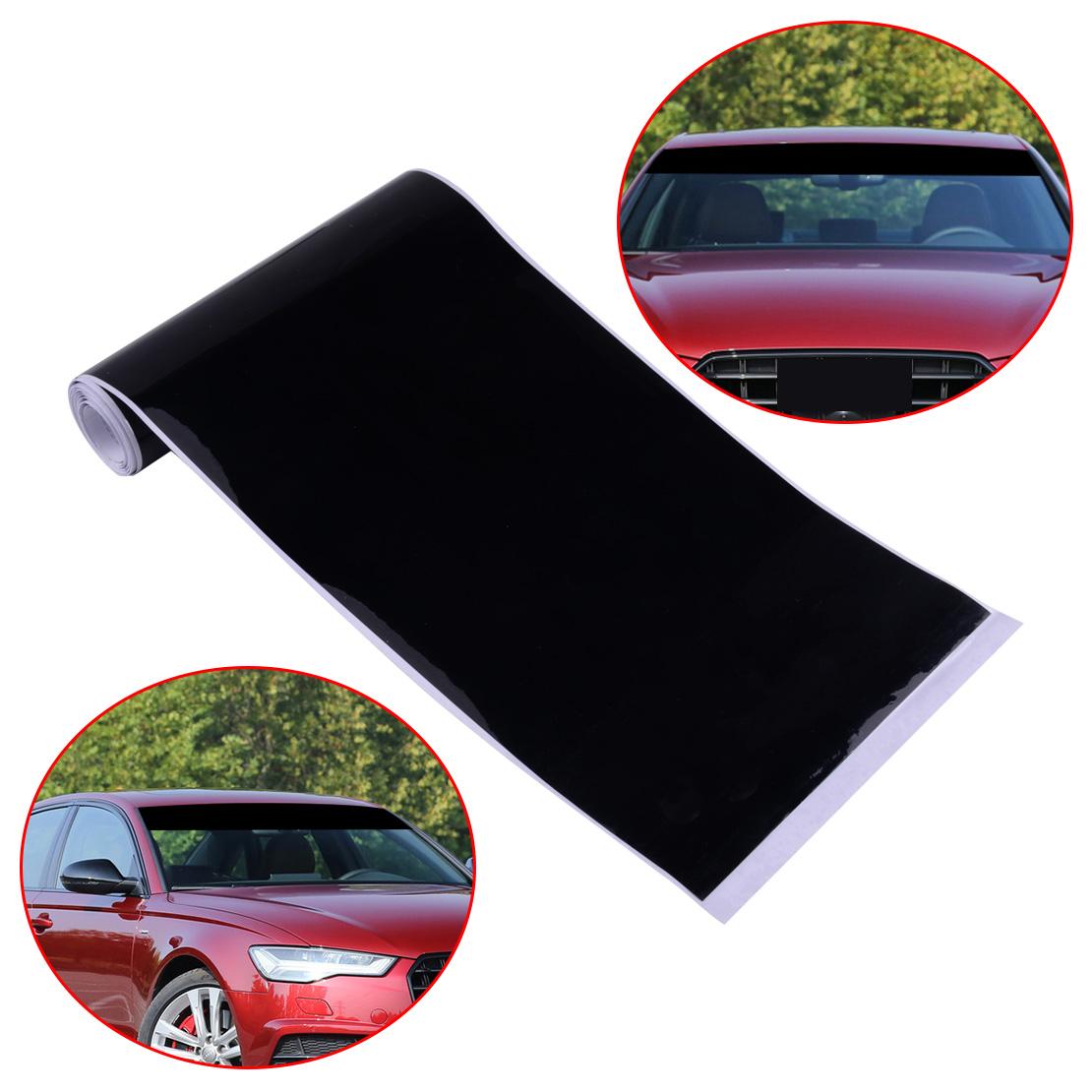 "6/""x60/"" Car Auto Vinyl Windshield Decal Strip Racing Stripe Reflective Sticker"