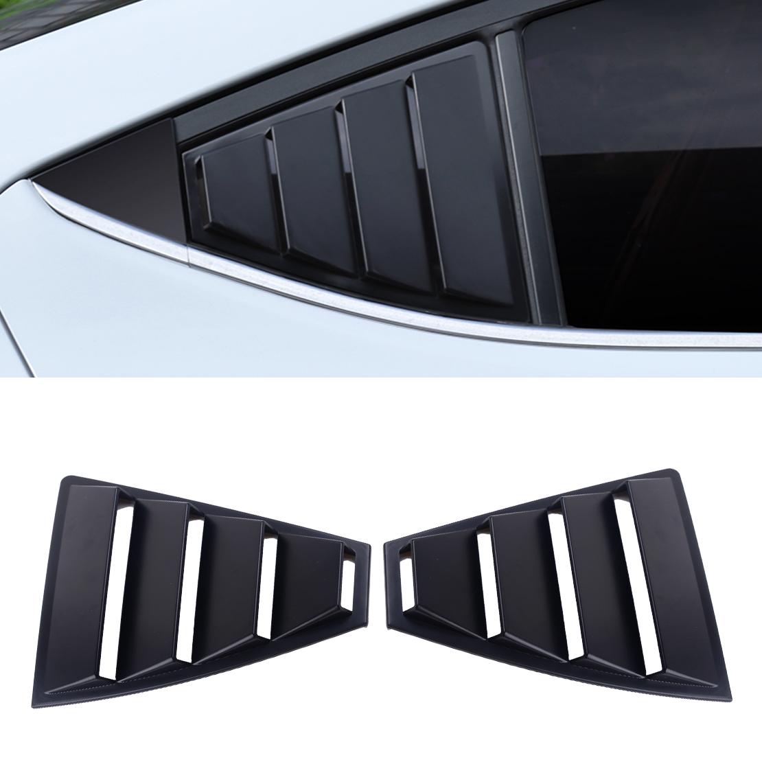 for HYUNDAI Elantra 2017-2019 Rear Quarter Panel Window Side Louvers Vent trim