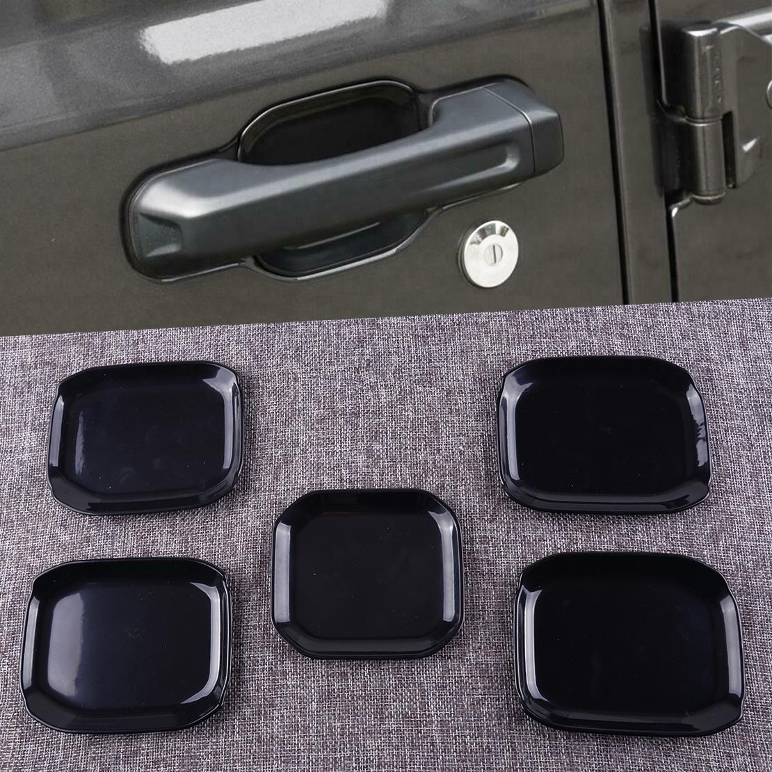 ABS Chrome Interior Door Handle bowl cover trim For 2018 Jeep Wrangler JL 2-Door