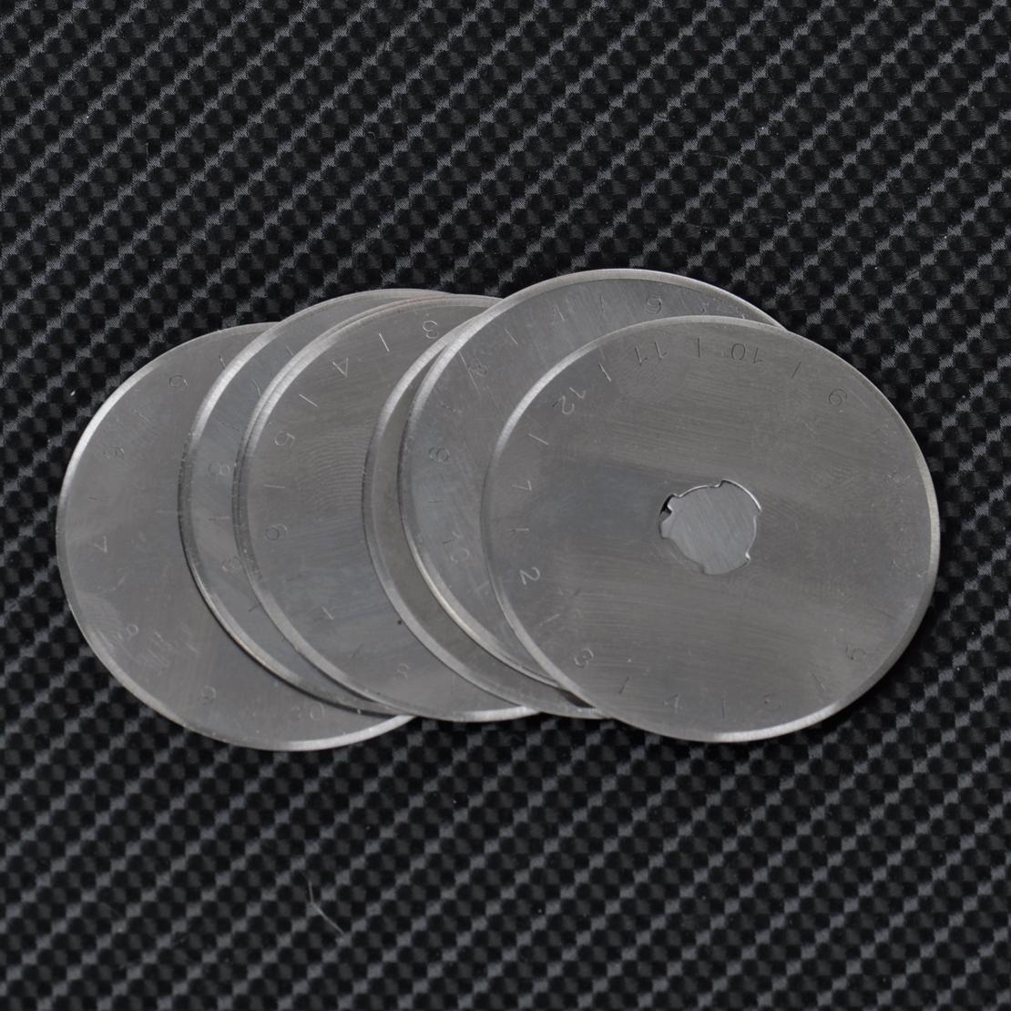 10x Ersatzklingen 28mm für Rollschneider Rollmesser Rotary Patchwork Quilt 280