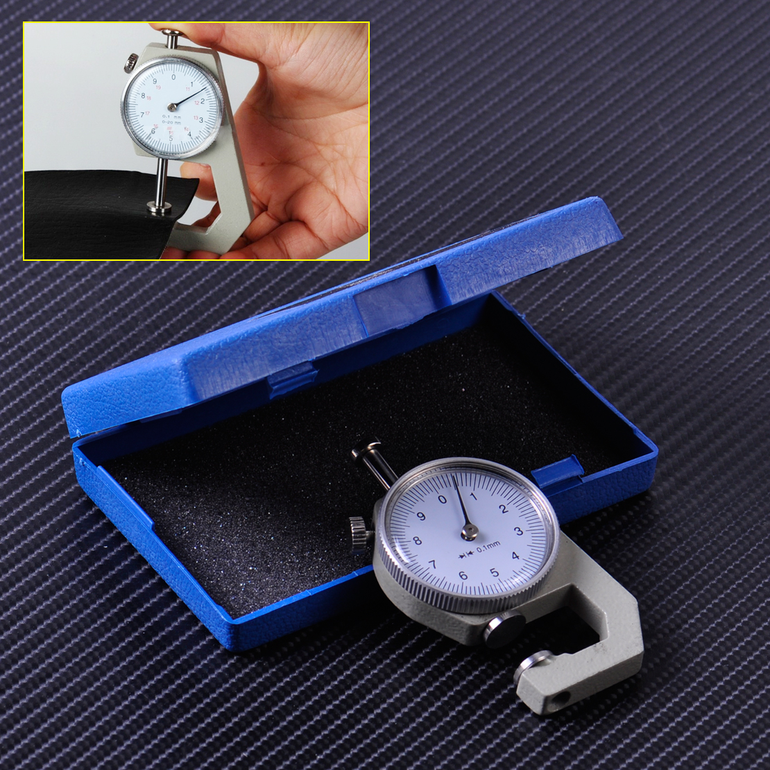 0 10mm leather thickness metal gauge tester measure leathercraft 0728360617804 greentooth Choice Image