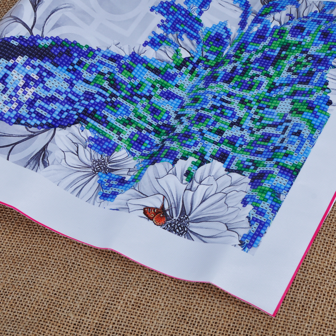 D diamond embroidery painting diy peacock mosaic stitch