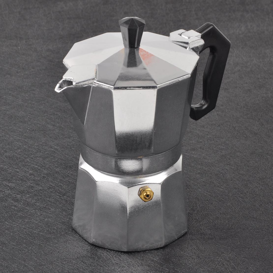 Bialetti Espressokocher Moka Express 4 Tassen Espresso Kocher Aluminium Expresso