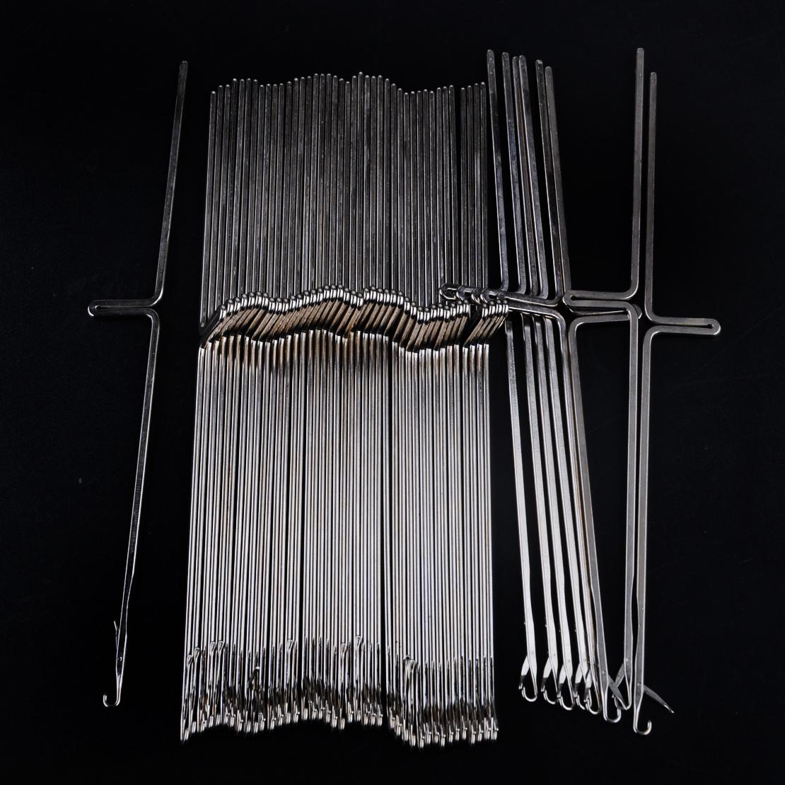 50 Aiguille pour Silver Reed chanteuse studio machine à tricoter SK280 SK360 SK580 SK840