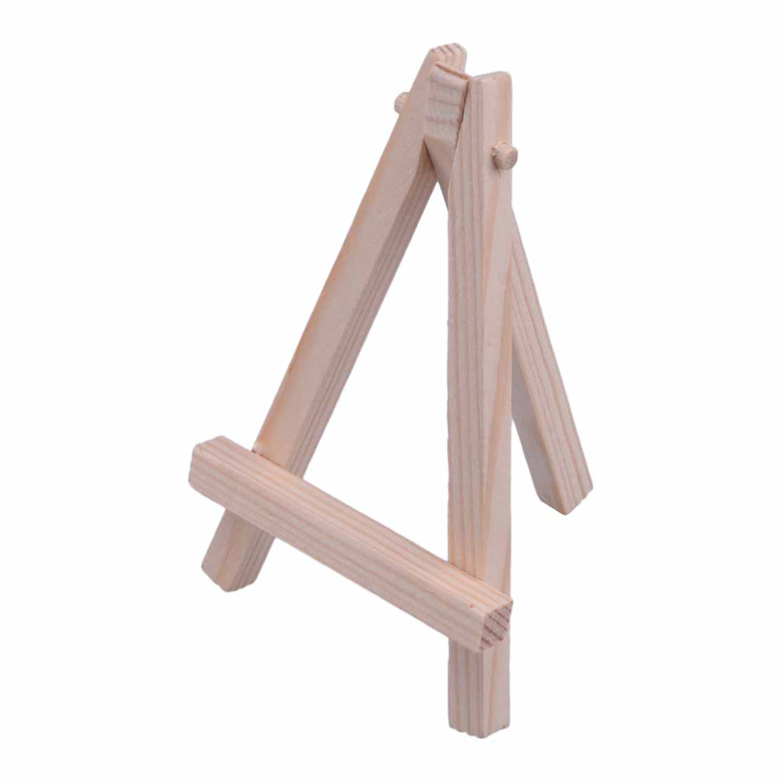 10pcs Mini Wooden Easel Triangle Table Display Artist