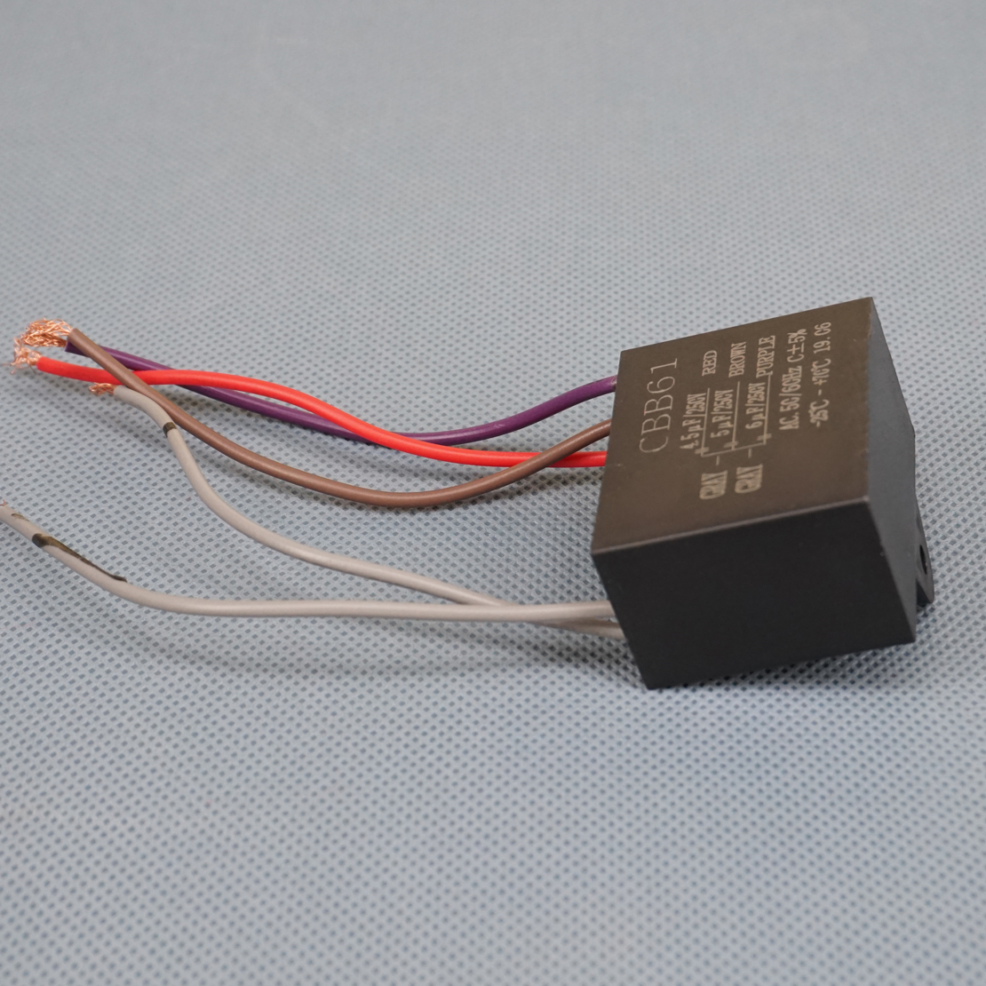 Cbb61 45uf 5uf 6uf 4 Wire 250vac Electric Fan Capacitor Type Control Wiring 6 Capacitors The Start And Stop Mechanisms Speeds On Many Different Types Of Ceiling Fans Motors Using These