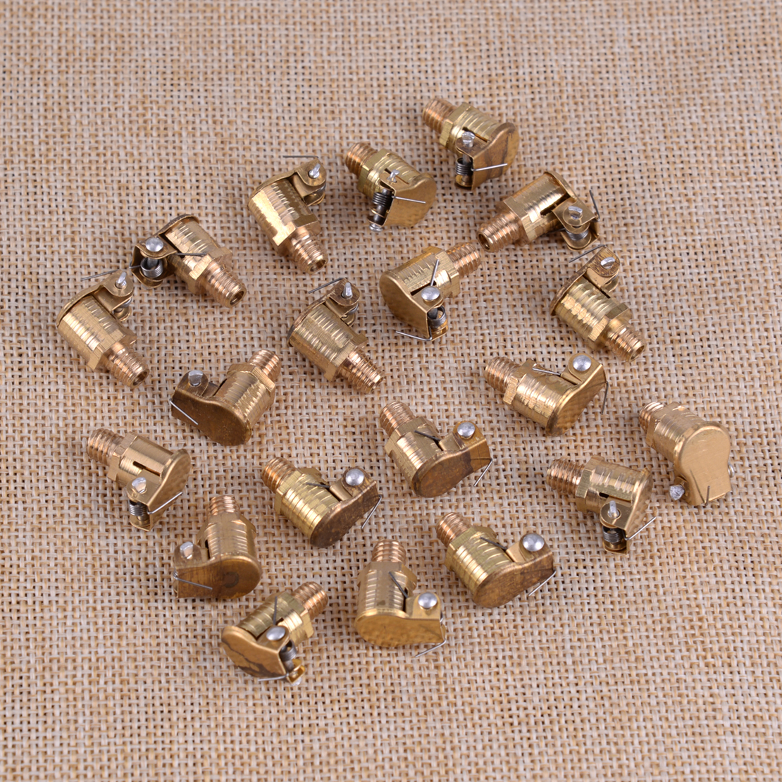 20pcs Brass Grease Oiler Spring Oil Cup Flip Cap M6x1mm Fit For Hit Miss Engine